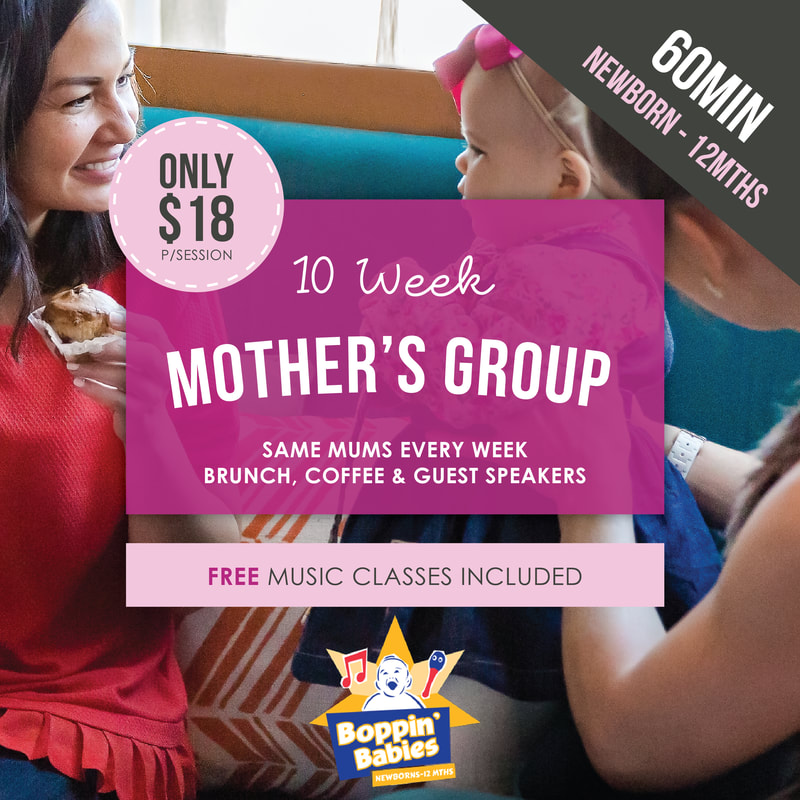 Brisbane Mothers Group Music by Boppin Babies